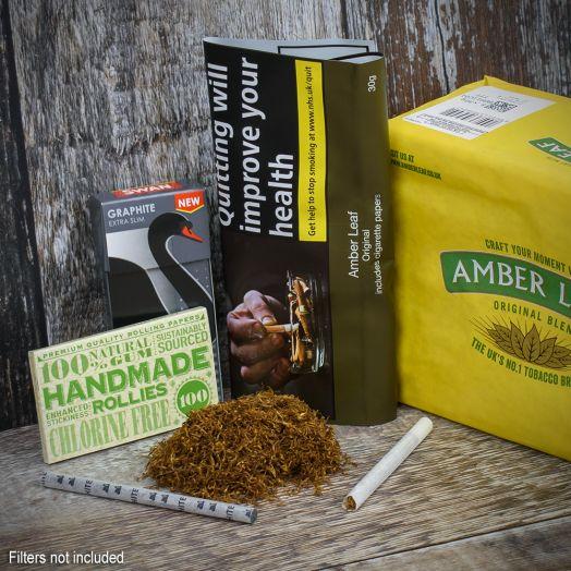 Amber Leaf Original | Rolling Tobacco | 30g Pouch