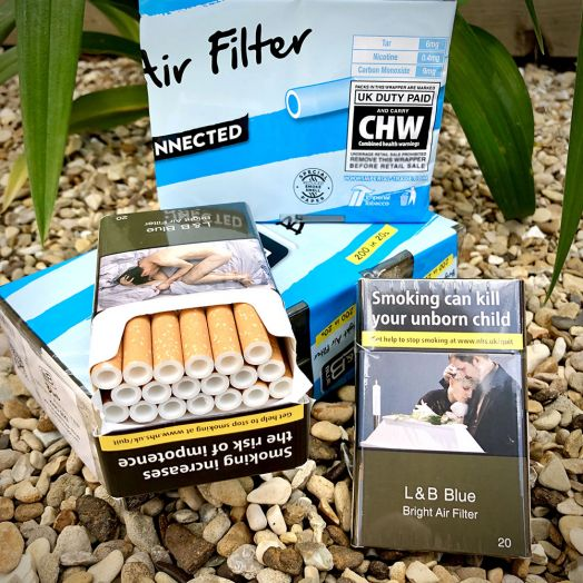 L&B Blue | Bright Air Filter | 20 King Size Cigarettes