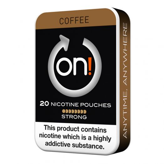 Tobacco Free on!® Nicotine Pouches - Coffee 8mg (Strong)