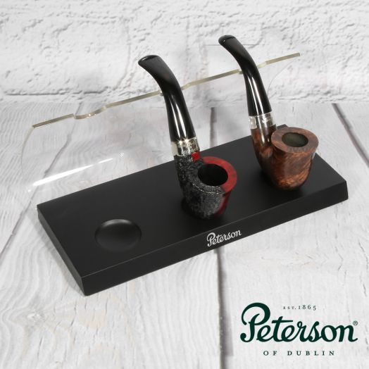 Peterson | 3 Pipe Stand | Acrylic & Wood