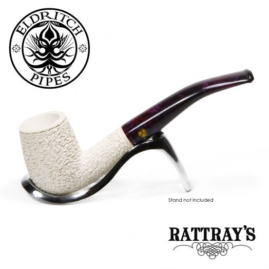 Rattray's White Goddess Meerschaum Pipe | Candy Carved 11