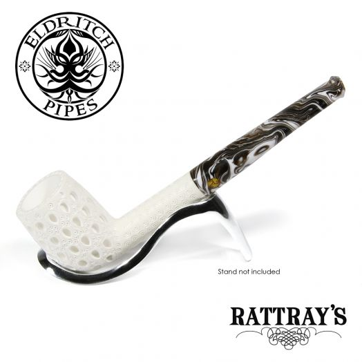 Rattray's White Goddess Meerschaum Pipe | Candy Carved 13