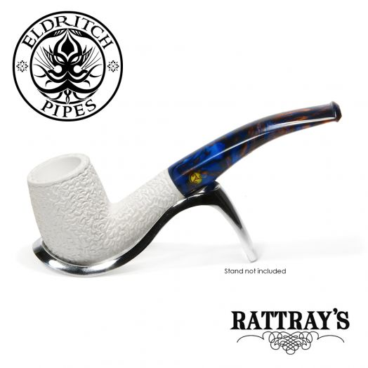 Rattray's White Goddess Meerschaum Pipe | Candy Carved 05