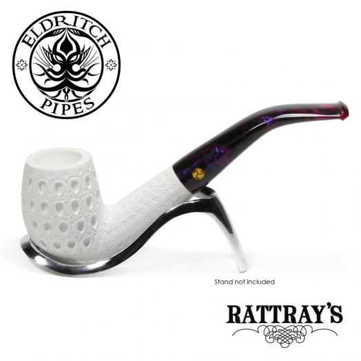 Rattray's White Goddess Meerschaum Pipe | Candy Carved 06