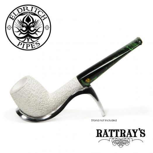Rattray's White Goddess Meerschaum Pipe | Candy Carved 08