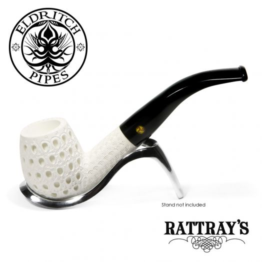 Rattray's White Goddess Meerschaum Pipe | Carved 09