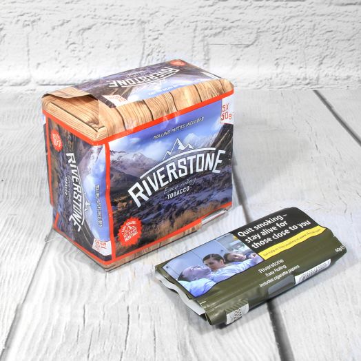 Riverstone Easy Rolling | Hand Rolling Tobacco - 50g Pouch