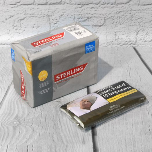 Sterling| Rolling Tobacco | 30g Pouch
